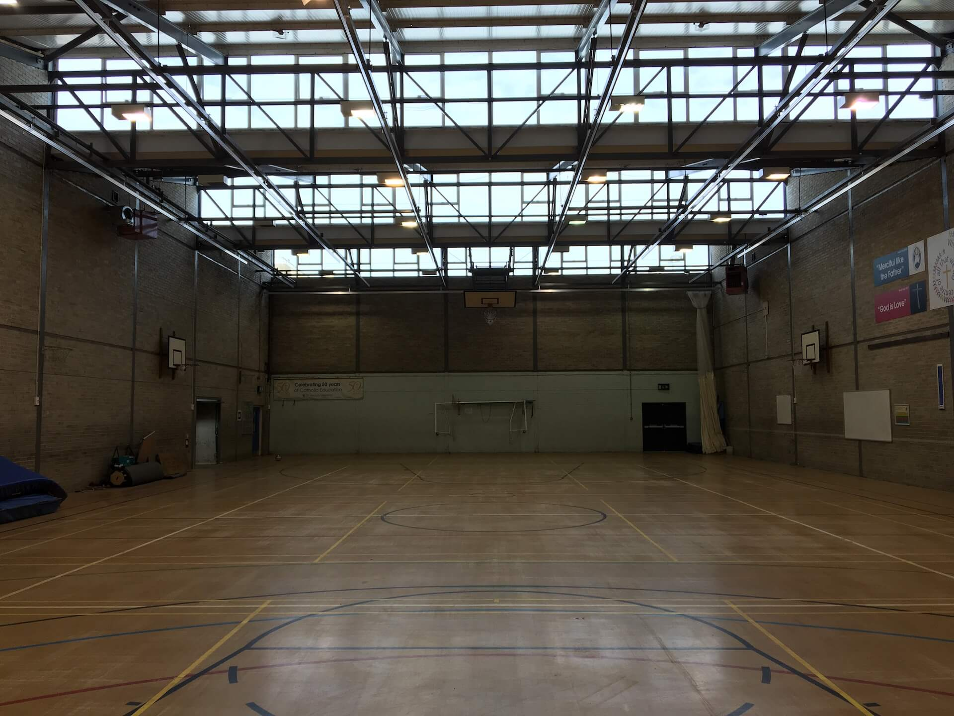 St Mary's Sports Hall Menston West Yorkshire 4