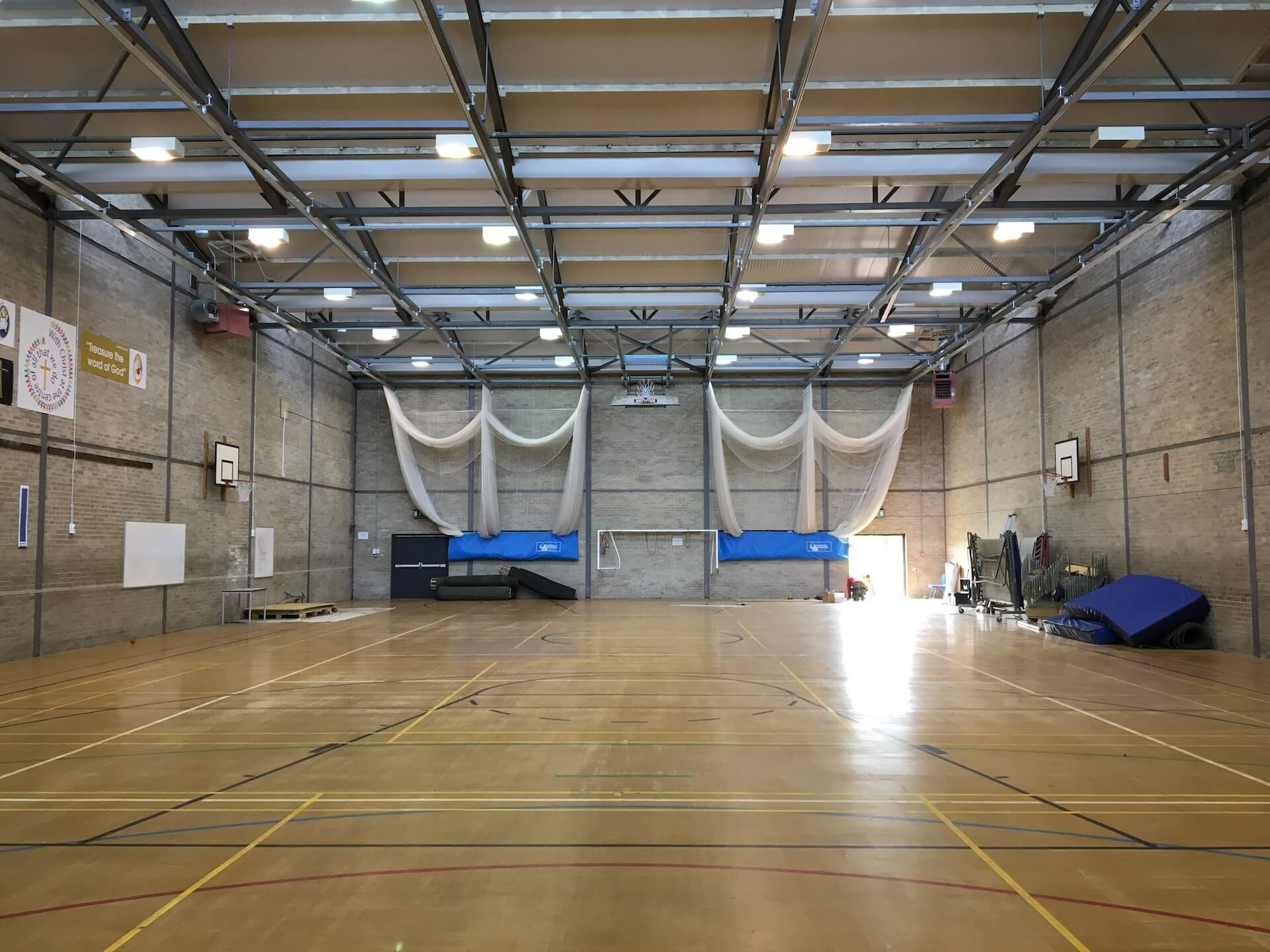 St Mary's Sports Hall Menston West Yorkshire 5