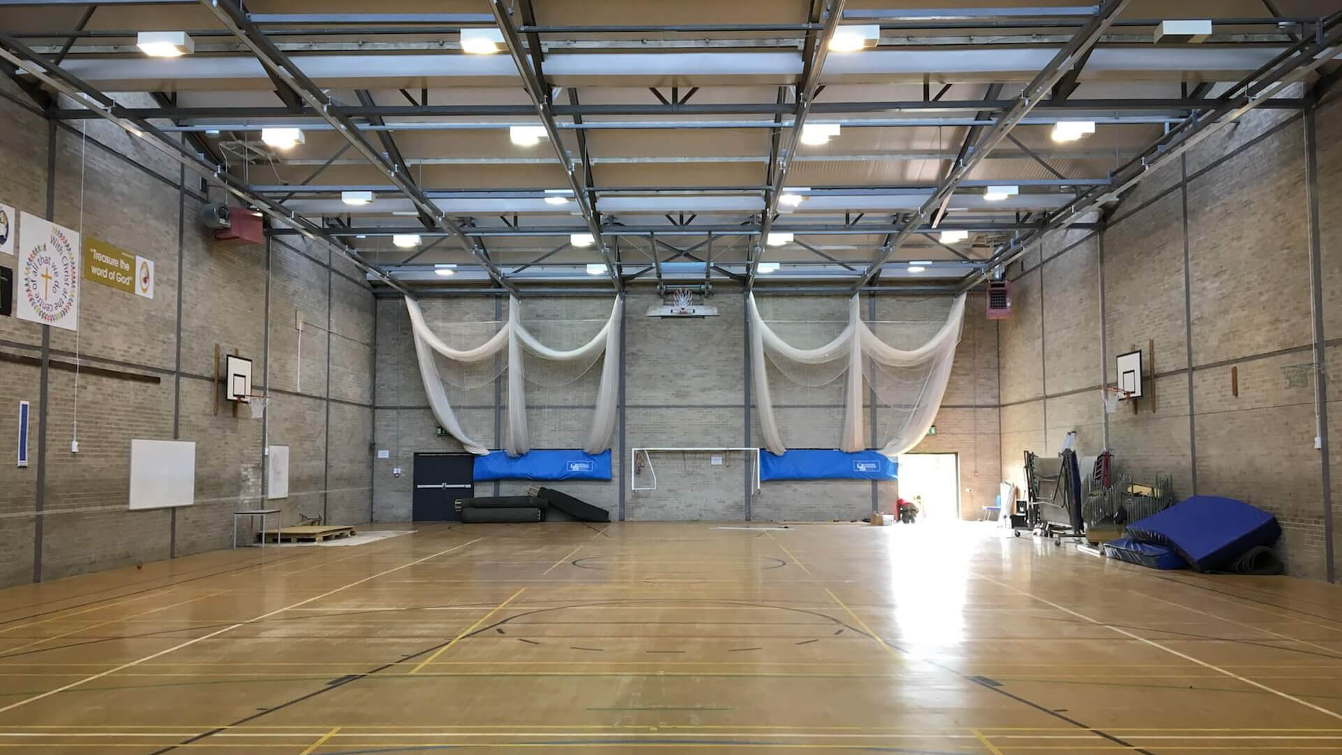 St Mary's Sports Hall Menston West Yorkshire