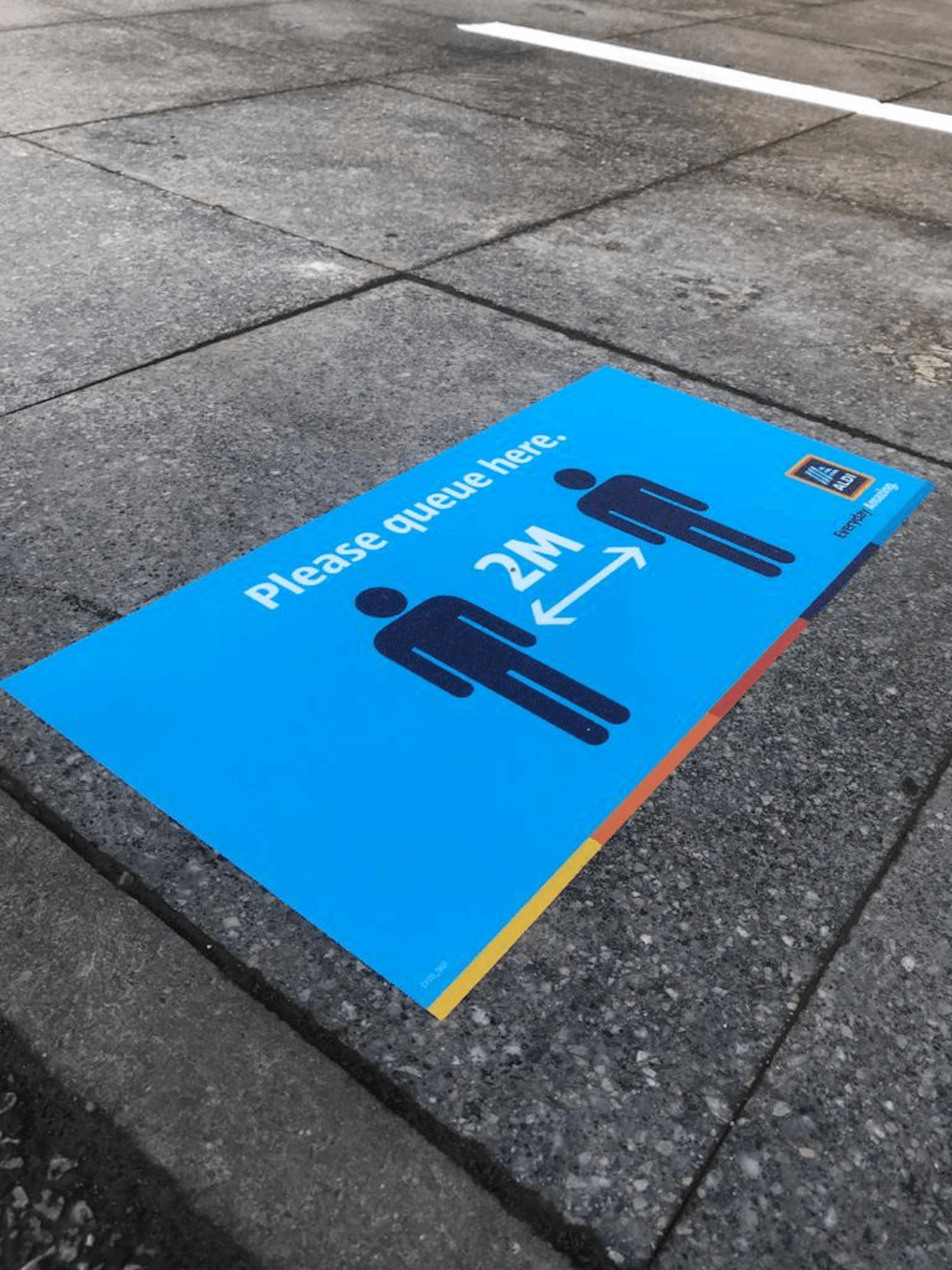 aldi – various stores – wet weather queuing solutions 3